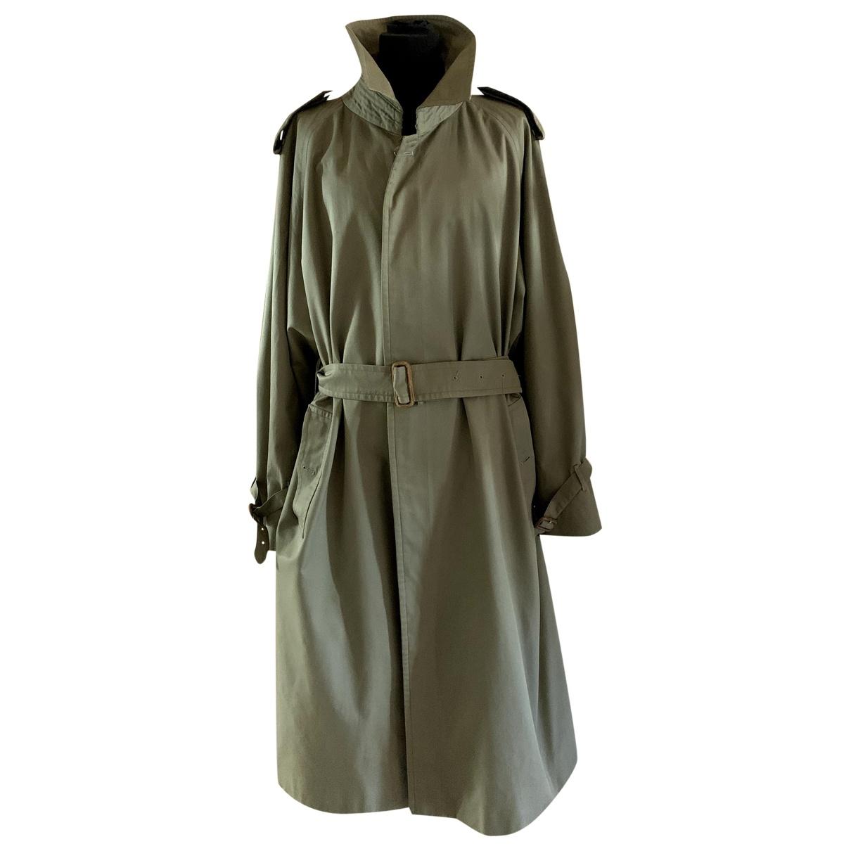 Burberry \N Green Cotton coat  for Men 56 FR