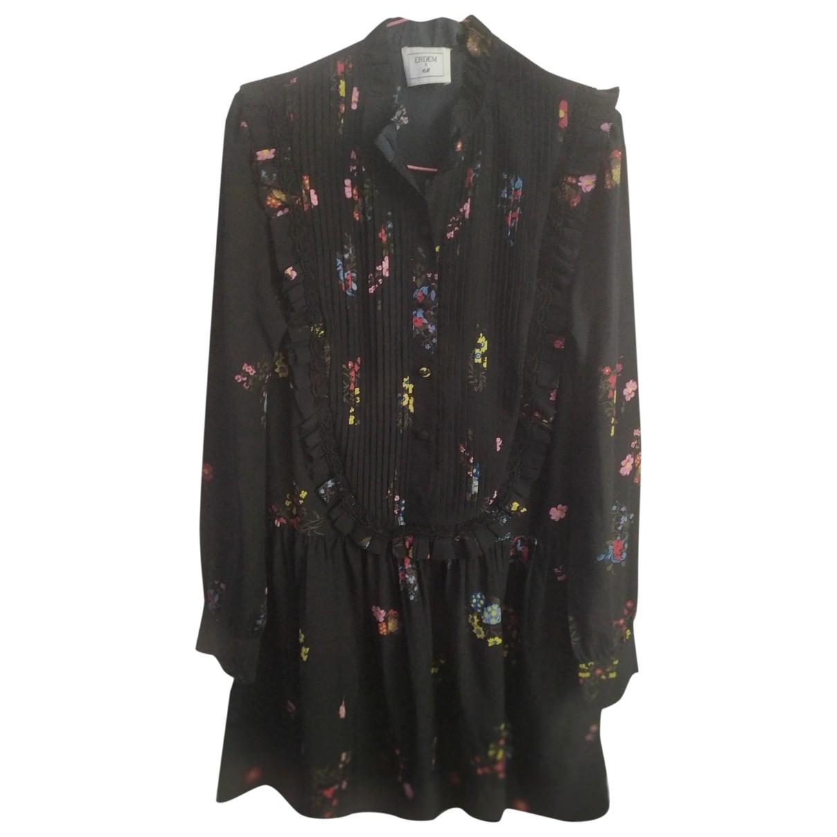 Erdem X H&m \N Kleid in  Schwarz Polyester