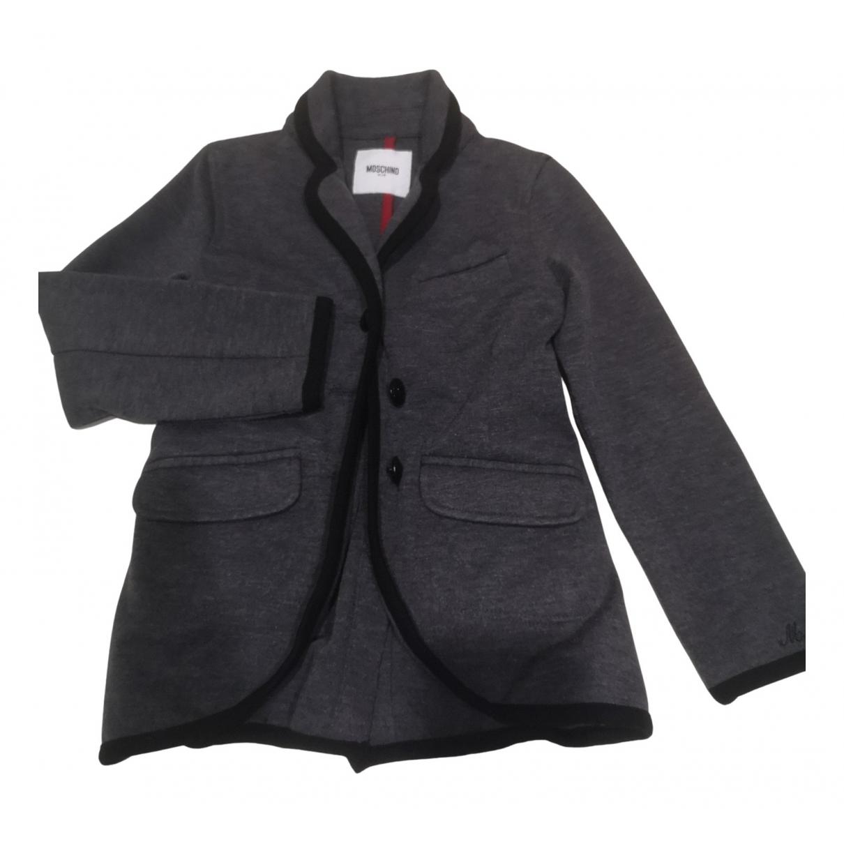 Moschino - Blousons.Manteaux   pour enfant - gris