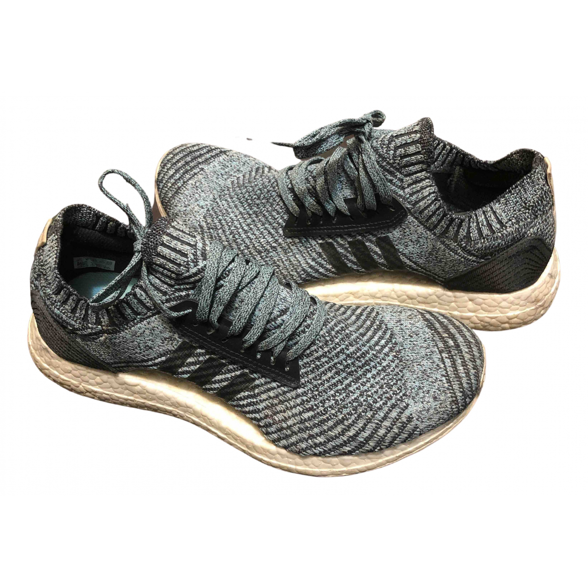 Adidas Ultraboost Blue Cloth Trainers for Women 8 UK
