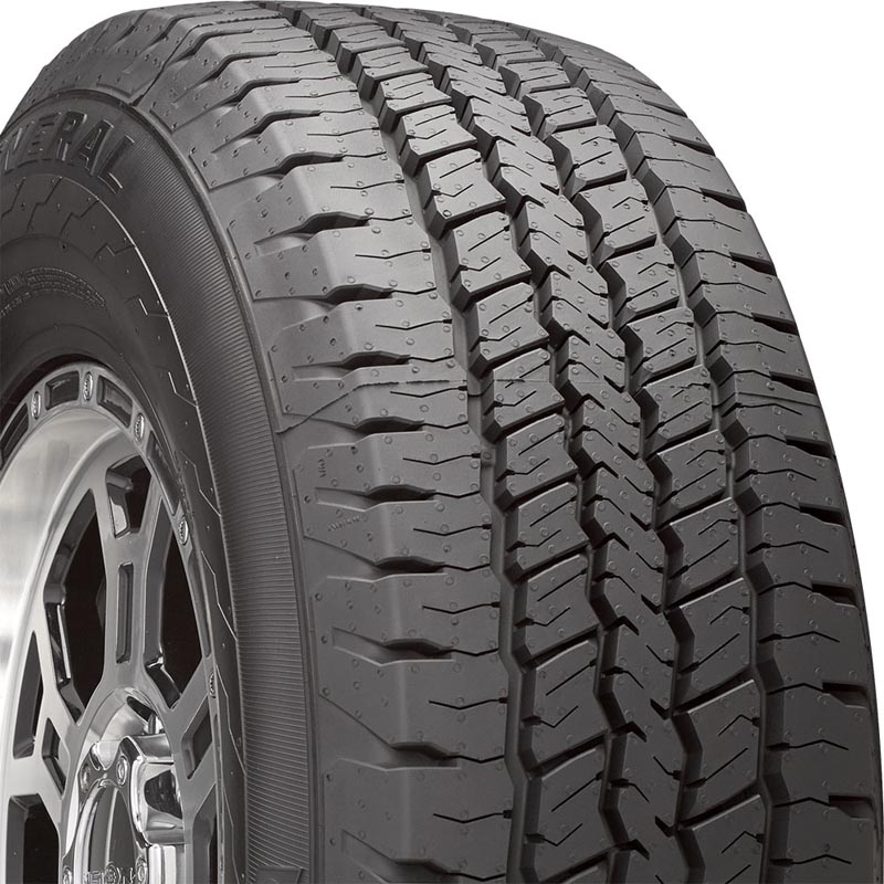 General Tires 04507240000 Grabber HD Tire 225/75 R16 121R C9 BSW