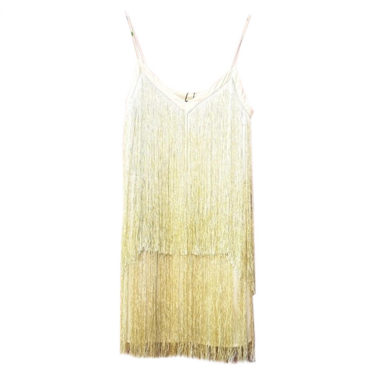 Zara \N Yellow dress for Women XL International