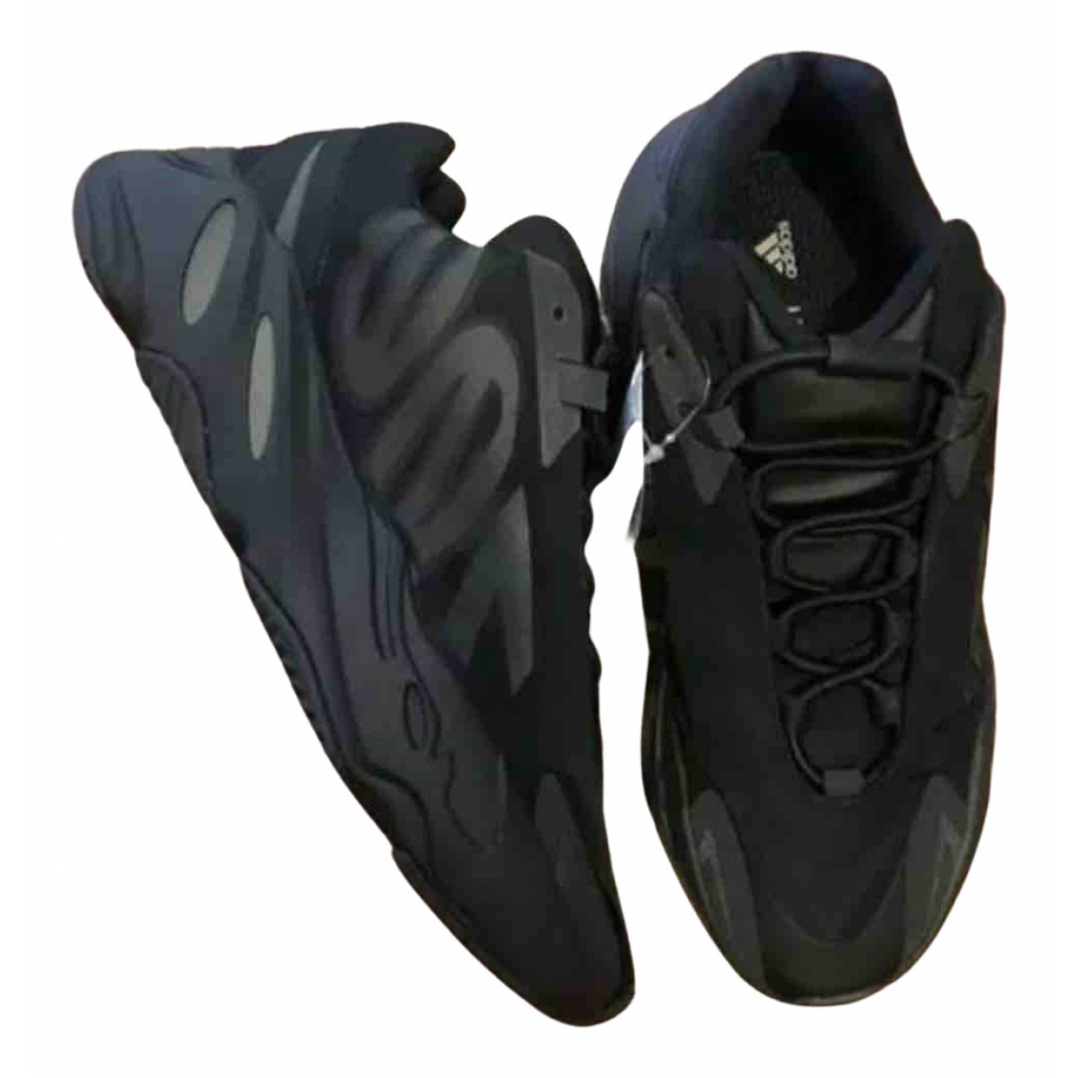 Yeezy X Adidas - Baskets 700 MNVN PHOSPHOR pour homme en a paillettes - noir