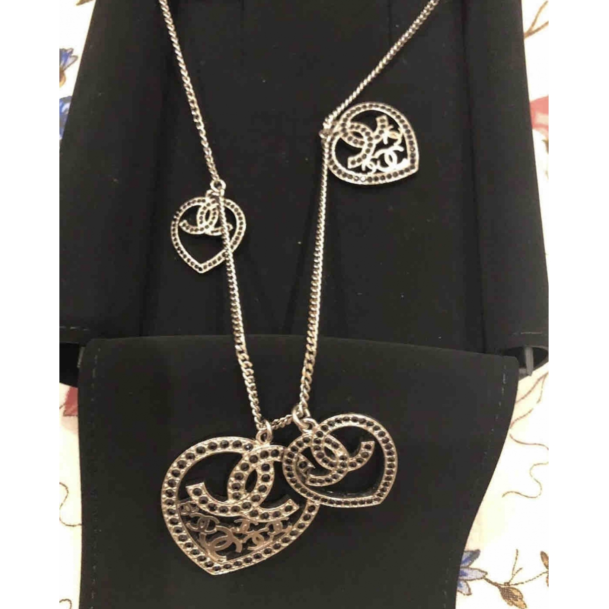 Chanel CC Silver Metal necklace for Women \N
