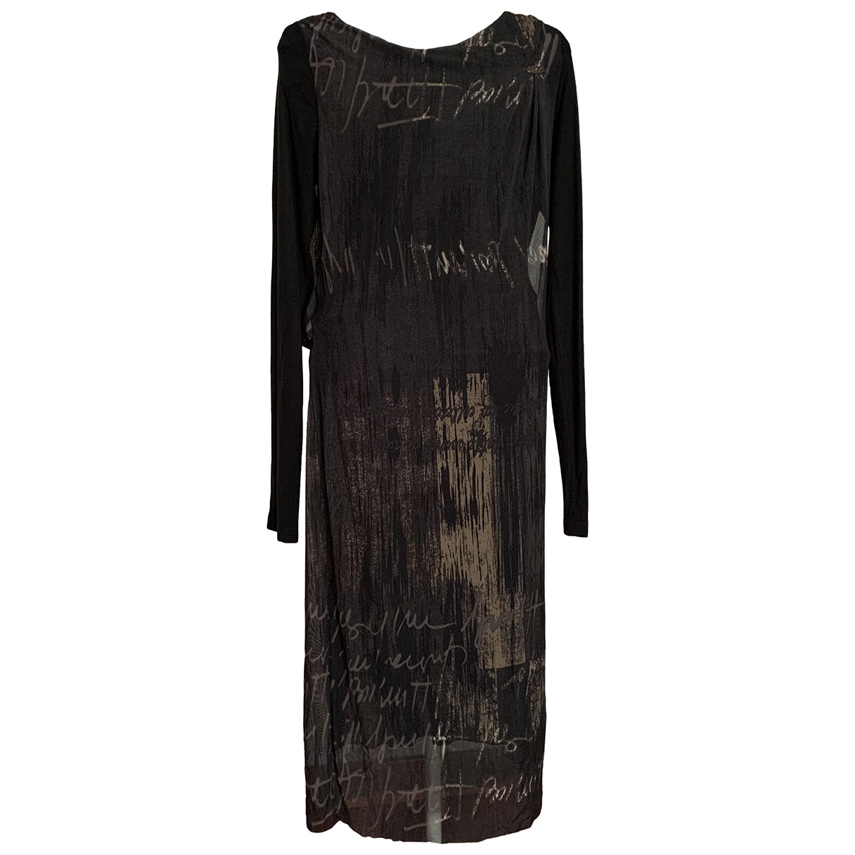 Liu.jo \N Kleid in  Anthrazit Polyester