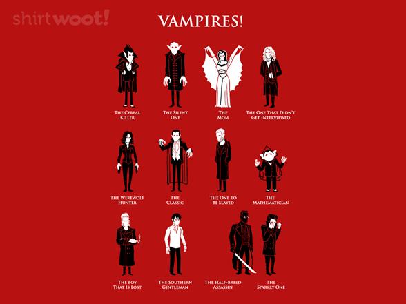 Vampires! T Shirt