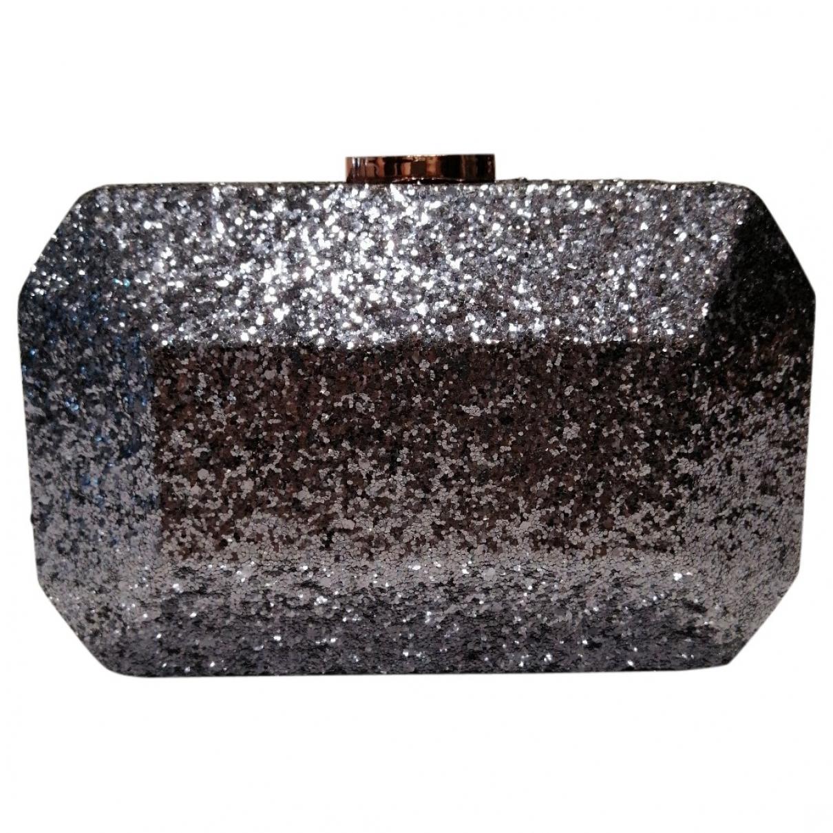 Just Cavalli \N Clutch in  Metallic Mit Pailletten