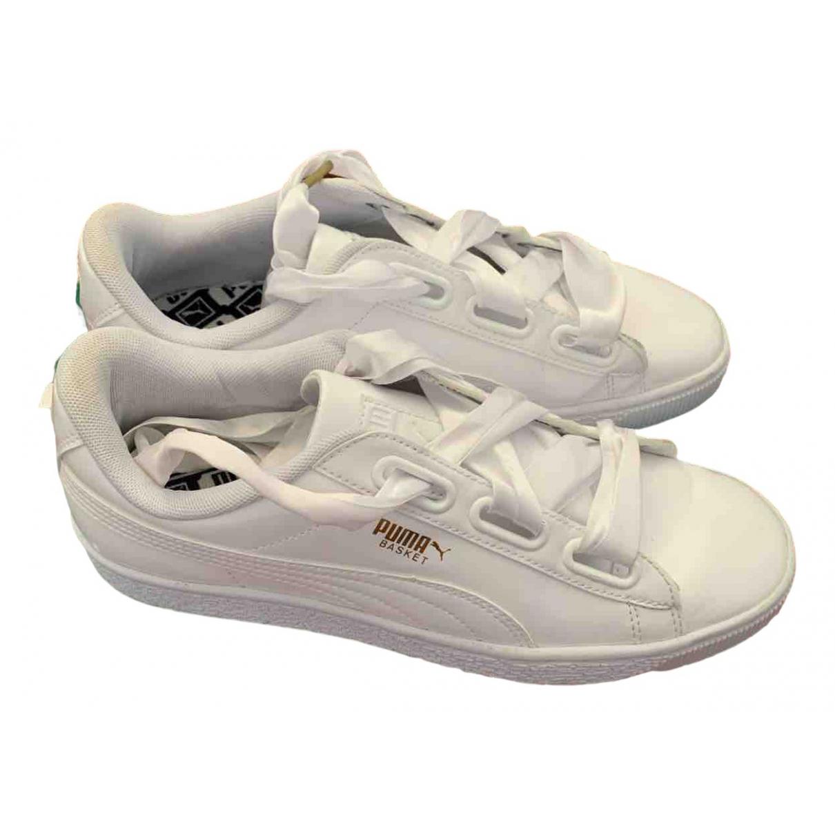 Puma \N Sneakers in  Weiss Kautschuk