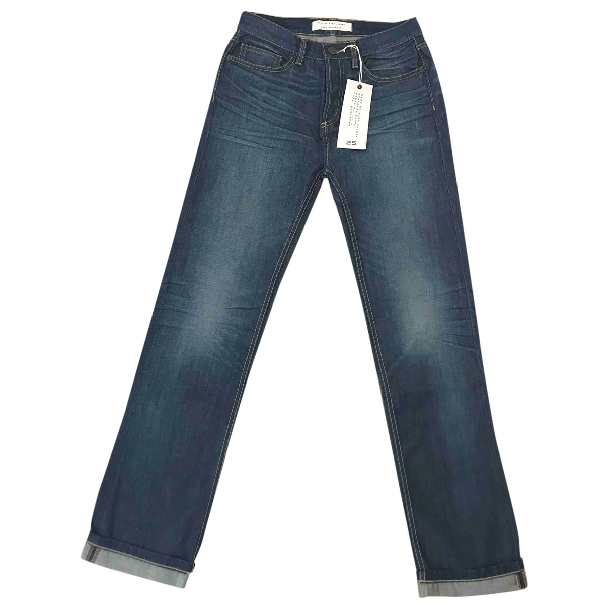 Marc By Marc Jacobs \N Blue Cotton Jeans for Women 25 US