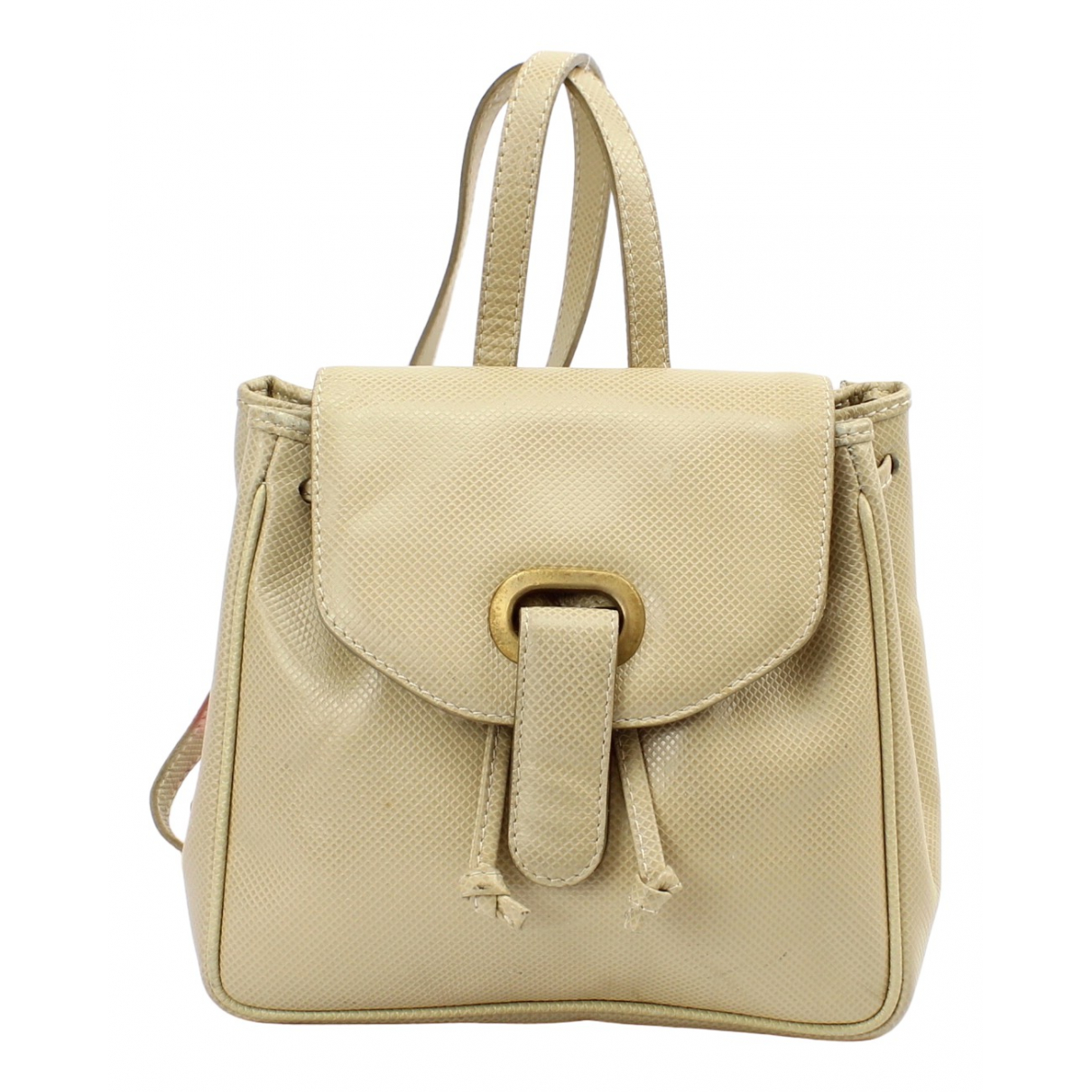 Bottega Veneta \N Beige Leather backpack for Women \N
