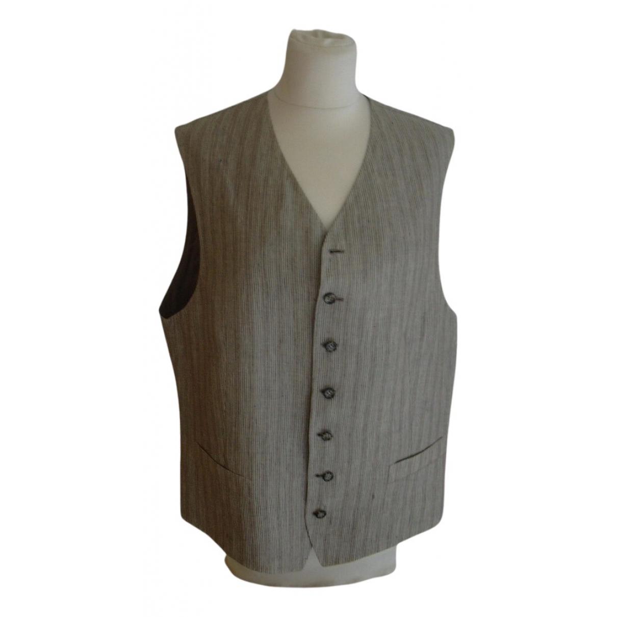Dior - Vestes.Blousons   pour homme en lin - beige