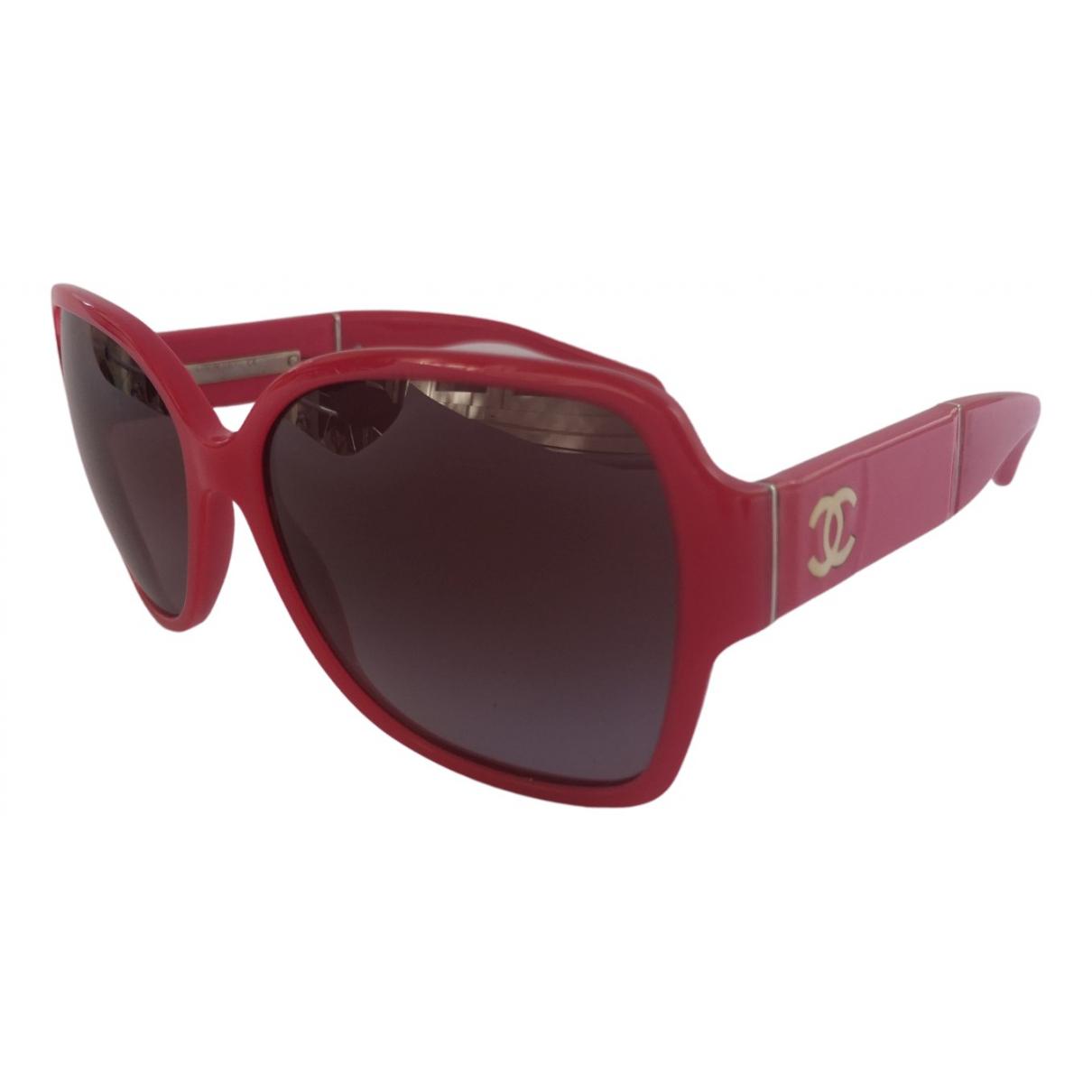 Chanel \N Sonnenbrillen in  Rosa Kunststoff