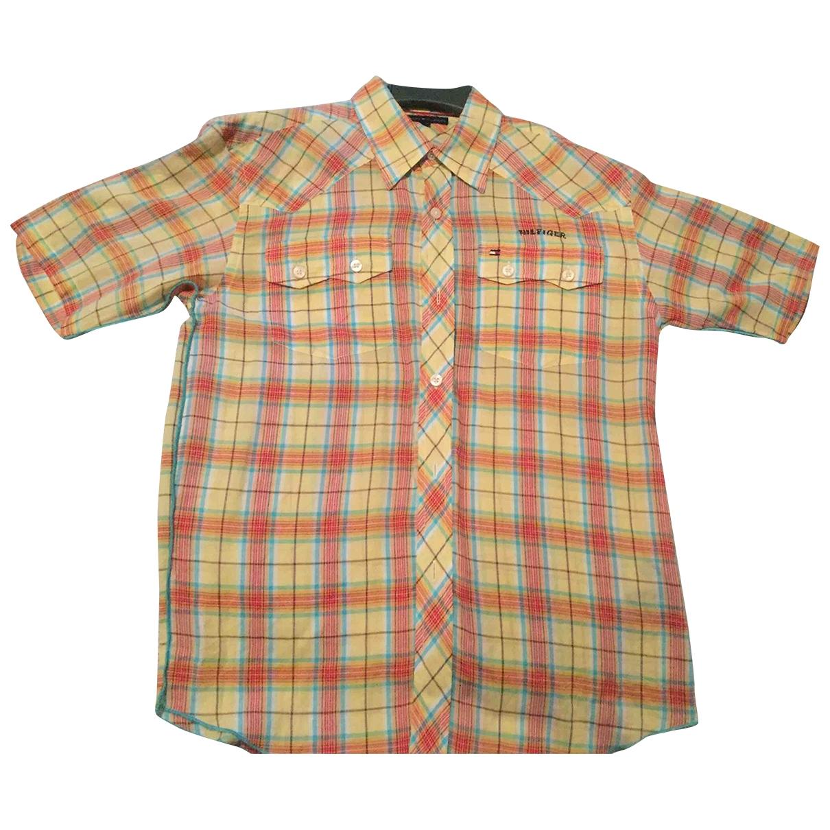 Tommy Hilfiger - Pull   pour enfant en coton - multicolore