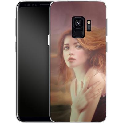 Samsung Galaxy S9 Silikon Handyhuelle - Melanie Delon - Hope von TATE and CO