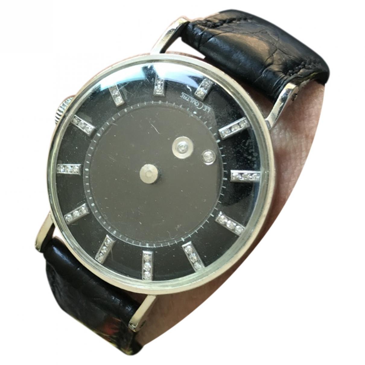Jaeger-lecoultre Vintage Uhr in  Schwarz Weissgold