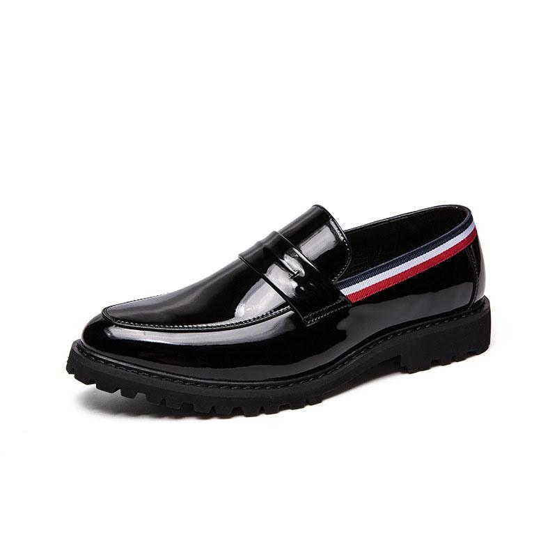 Ericdress PU Slip-On Low-Cut Upper Men's Dress Shoes