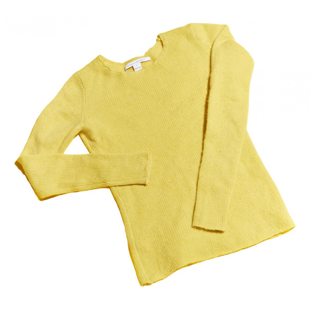 Diane Von Furstenberg N Yellow Cashmere Knitwear for Women XS International