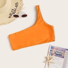 Bikini Top mit einer Schulter frei