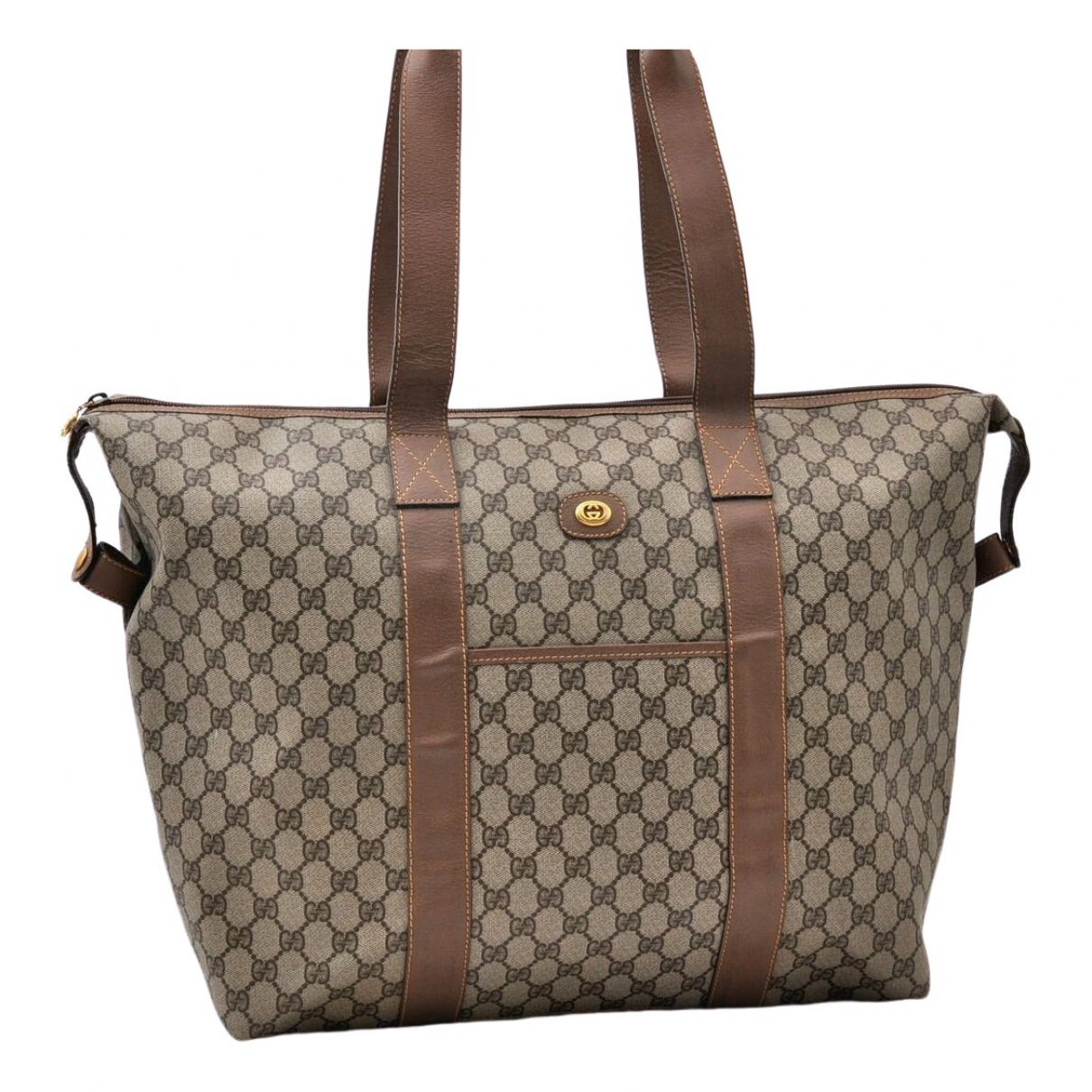 Gucci \N Brown Travel bag for Women \N