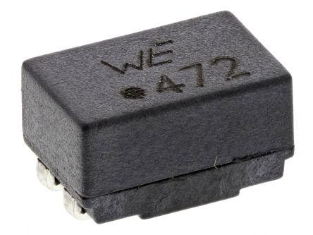 Wurth Elektronik Wurth, WE-SL2 Wire-wound SMD Inductor with a Ferrite Core, 4.7 mH ±50% Dual 500mA Idc
