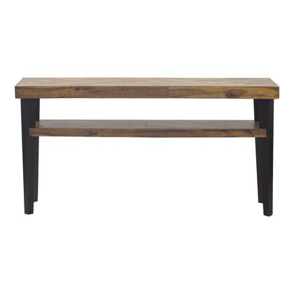 Parq Collection TL-1013-14 Console Table with Medium Density Fiberboard in Brown