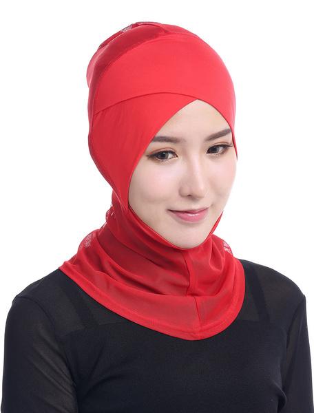 Milanoo Sombrero islamico Hijab Headscarf Cap Mujeres Modal islamico Full Cover Gorro interior