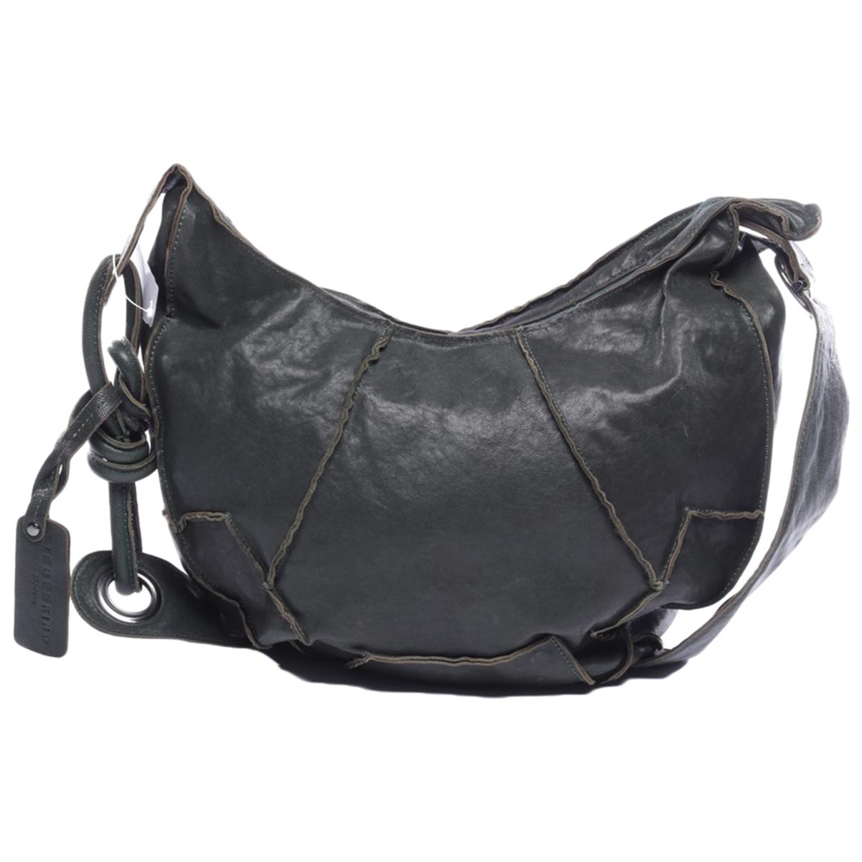 Autre Marque \N Green Leather handbag for Women \N