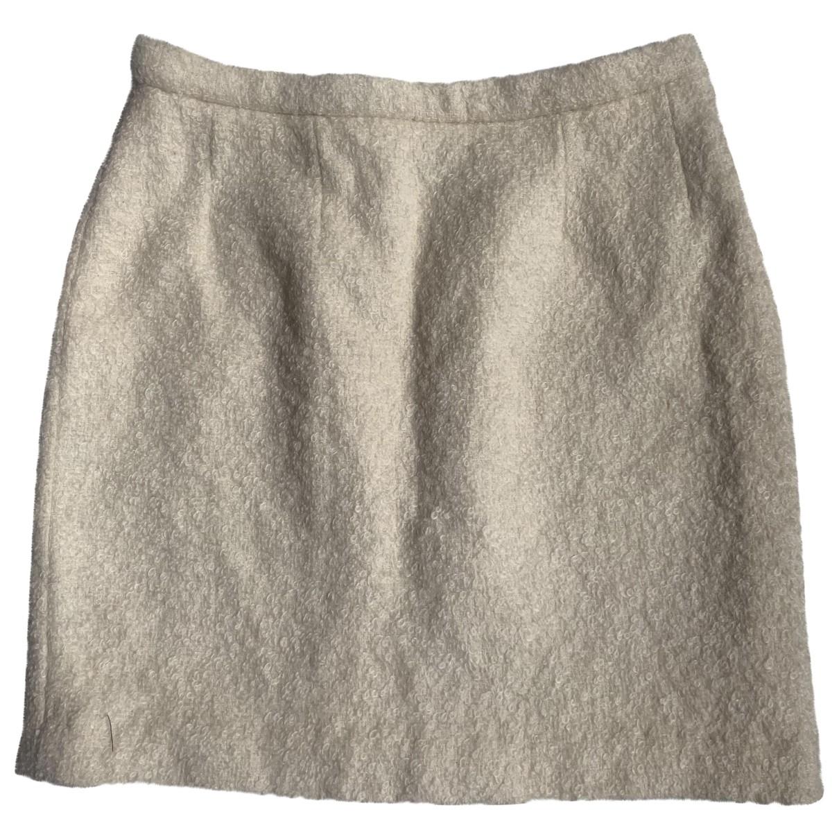 Chanel - Jupe   pour femme en laine - ecru