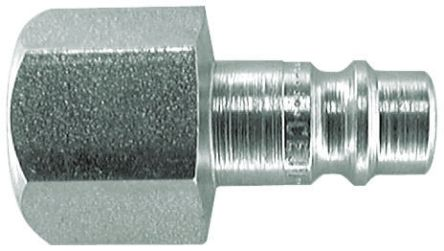 CEJN Pneumatic Quick Connect Coupling Steel 1/8 in Threaded