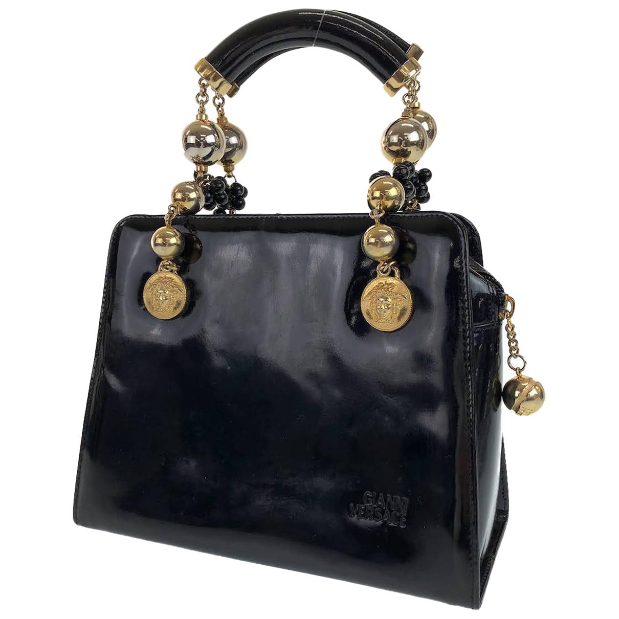 Gianni Versace \N Handtasche in Lackleder