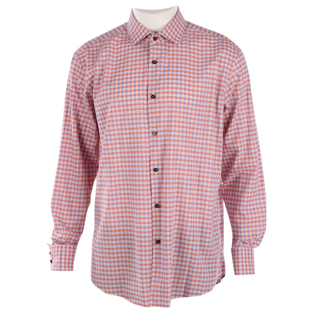 Boss \N Multicolour Cotton Shirts for Men 43 EU (tour de cou / collar)