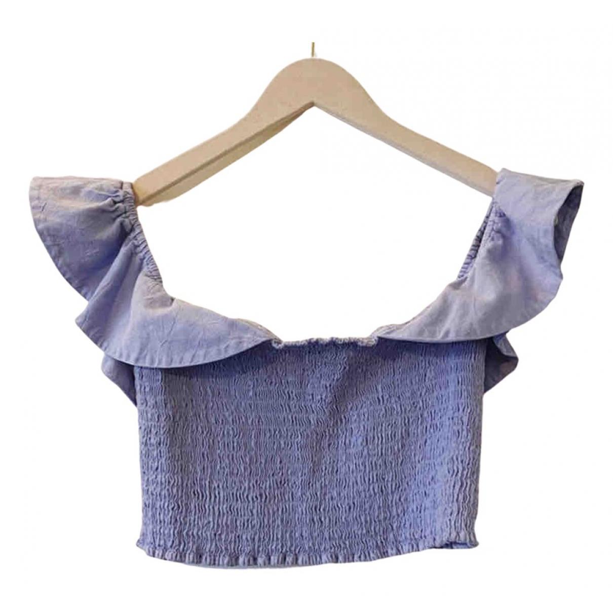 Apiece Apart - Top   pour femme en coton - violet