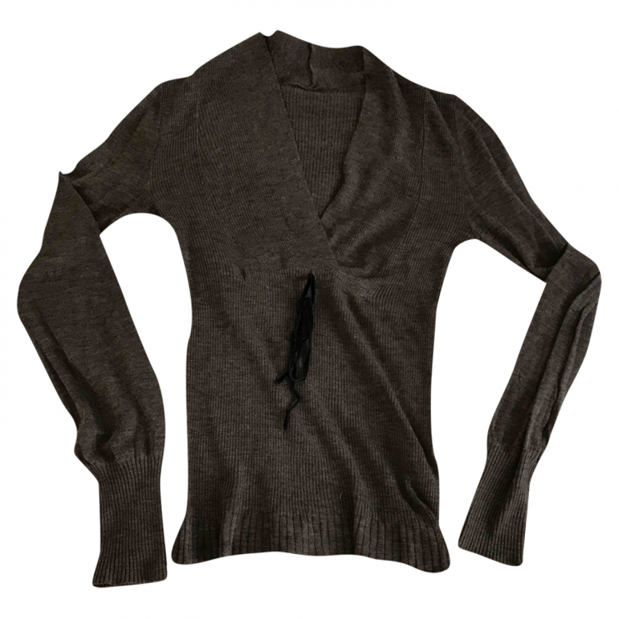 Max & Co \N Grey Wool Knitwear for Women L International