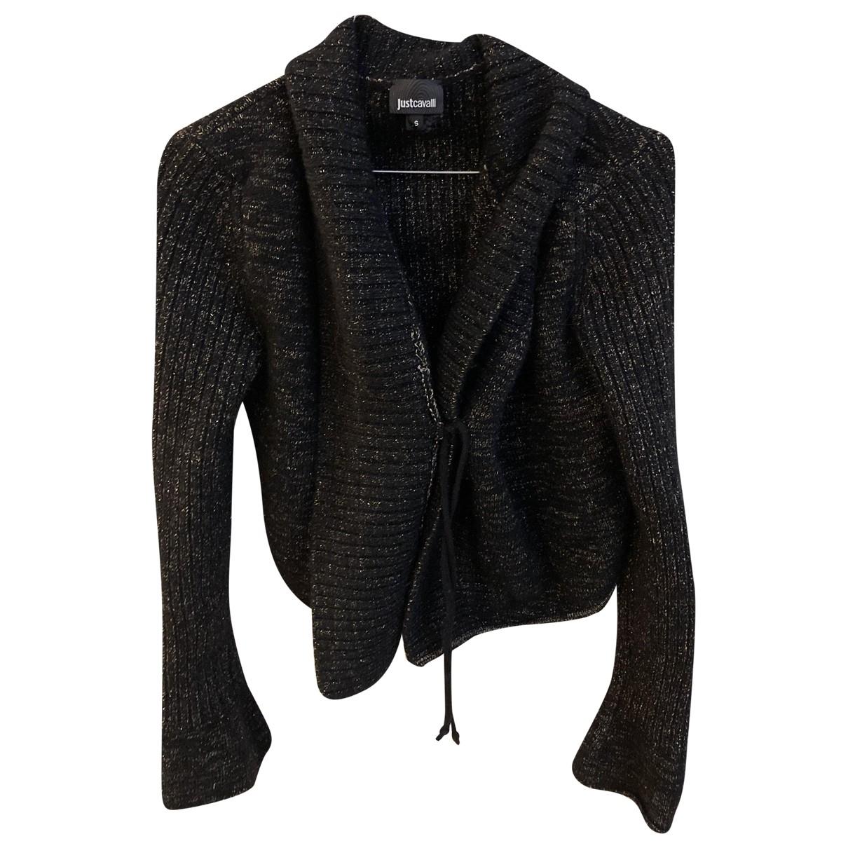 Just Cavalli - Pull   pour femme en laine - noir