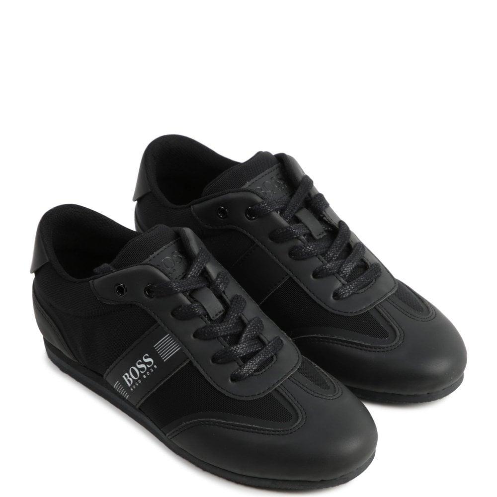 Hugo Boss Low Trainer Colour: BLACK, Size: 40