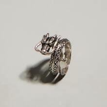 Ring mit Drachen Design