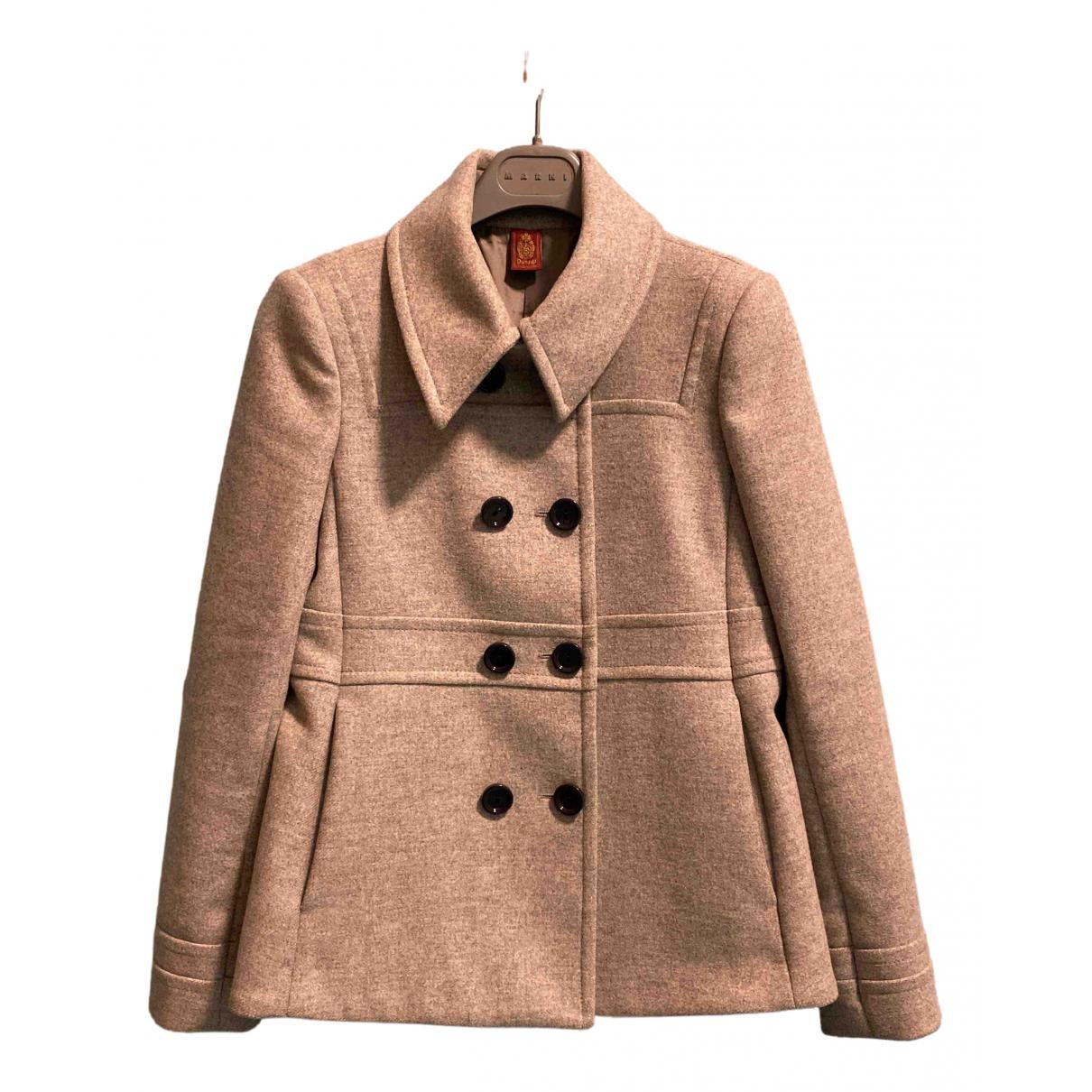 Dondup - Manteau   pour femme en cachemire - gris