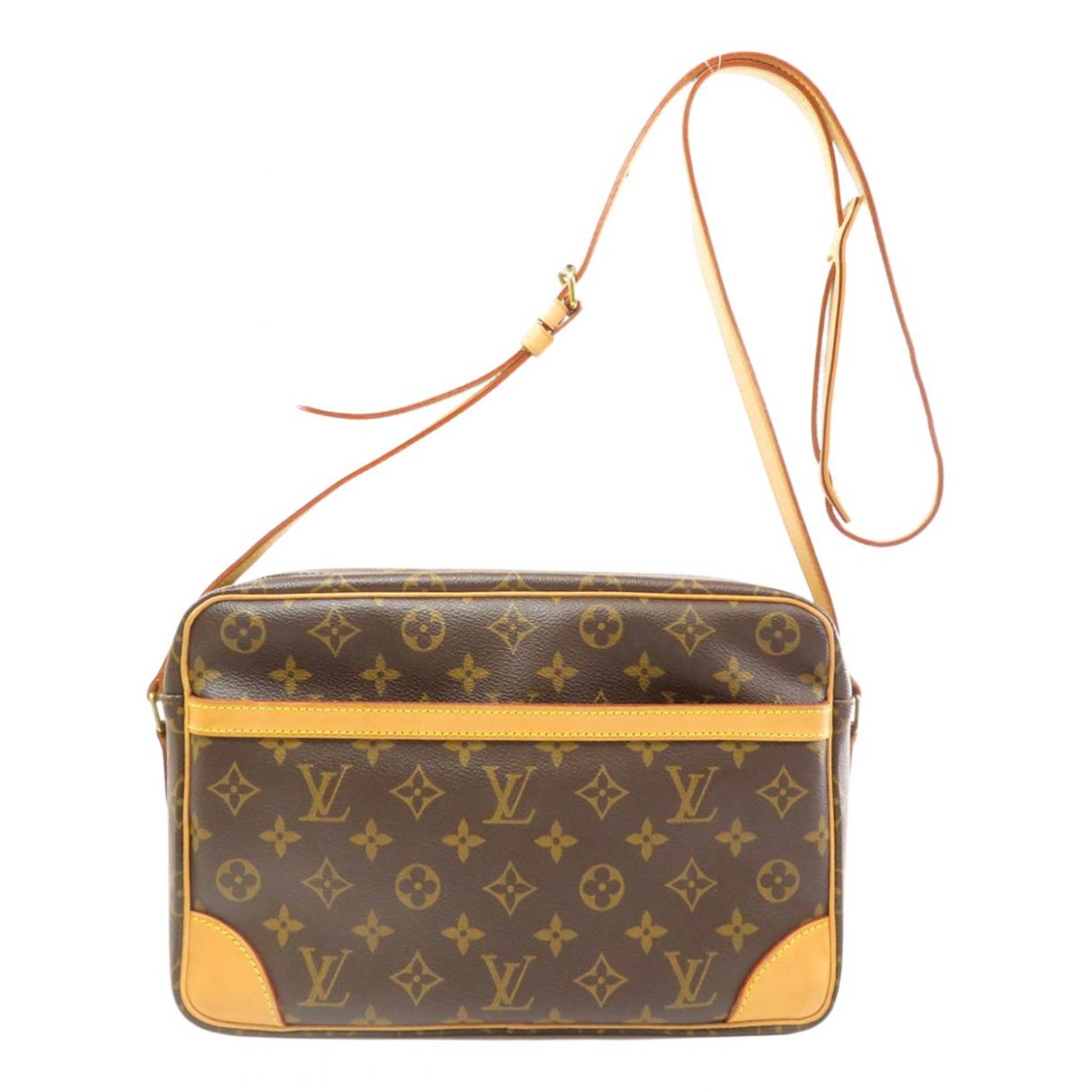 Louis Vuitton Trocadéro Brown Cloth handbag for Women \N