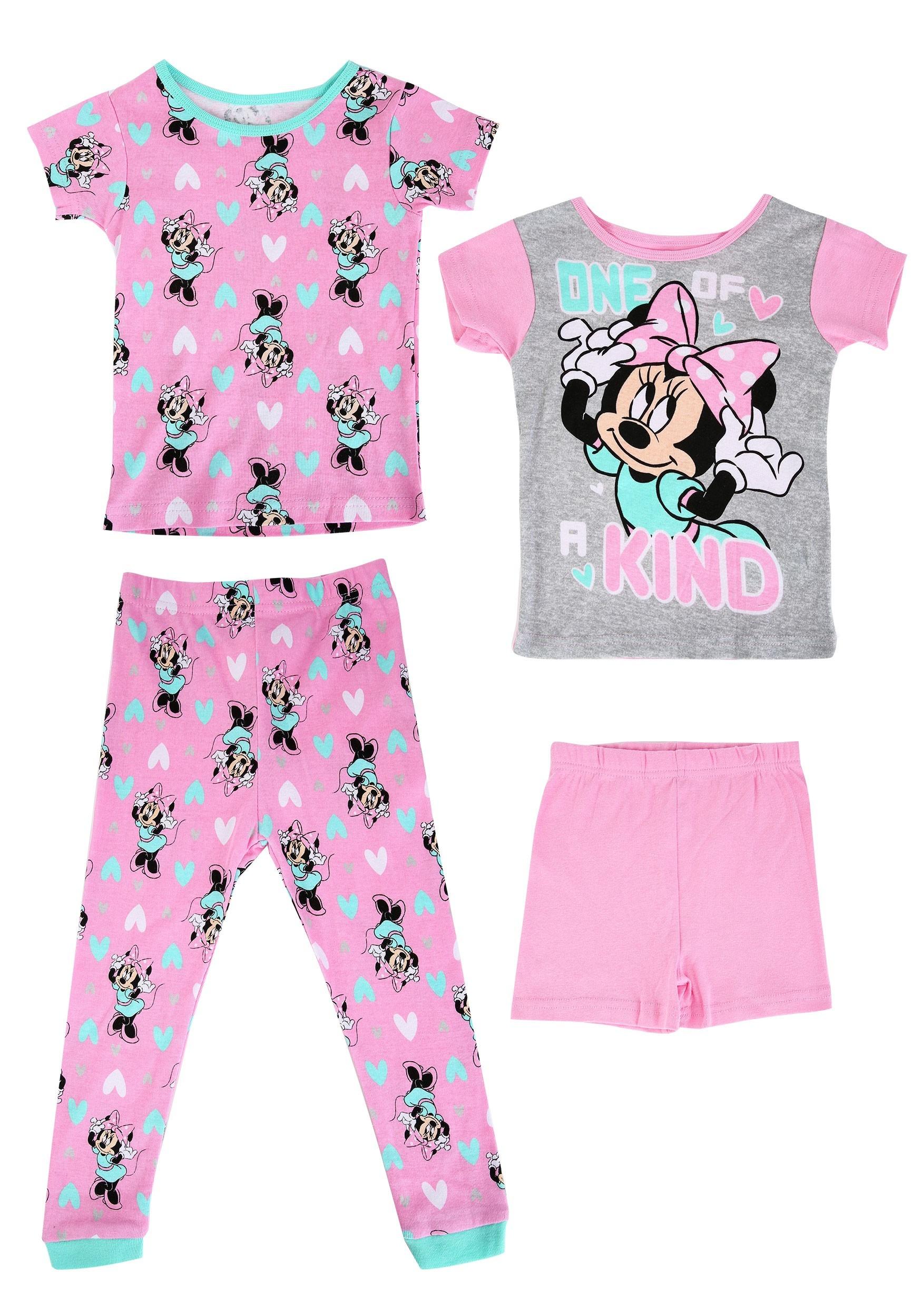 Minnie Mouse Girls 2 Pack Sleep Sets