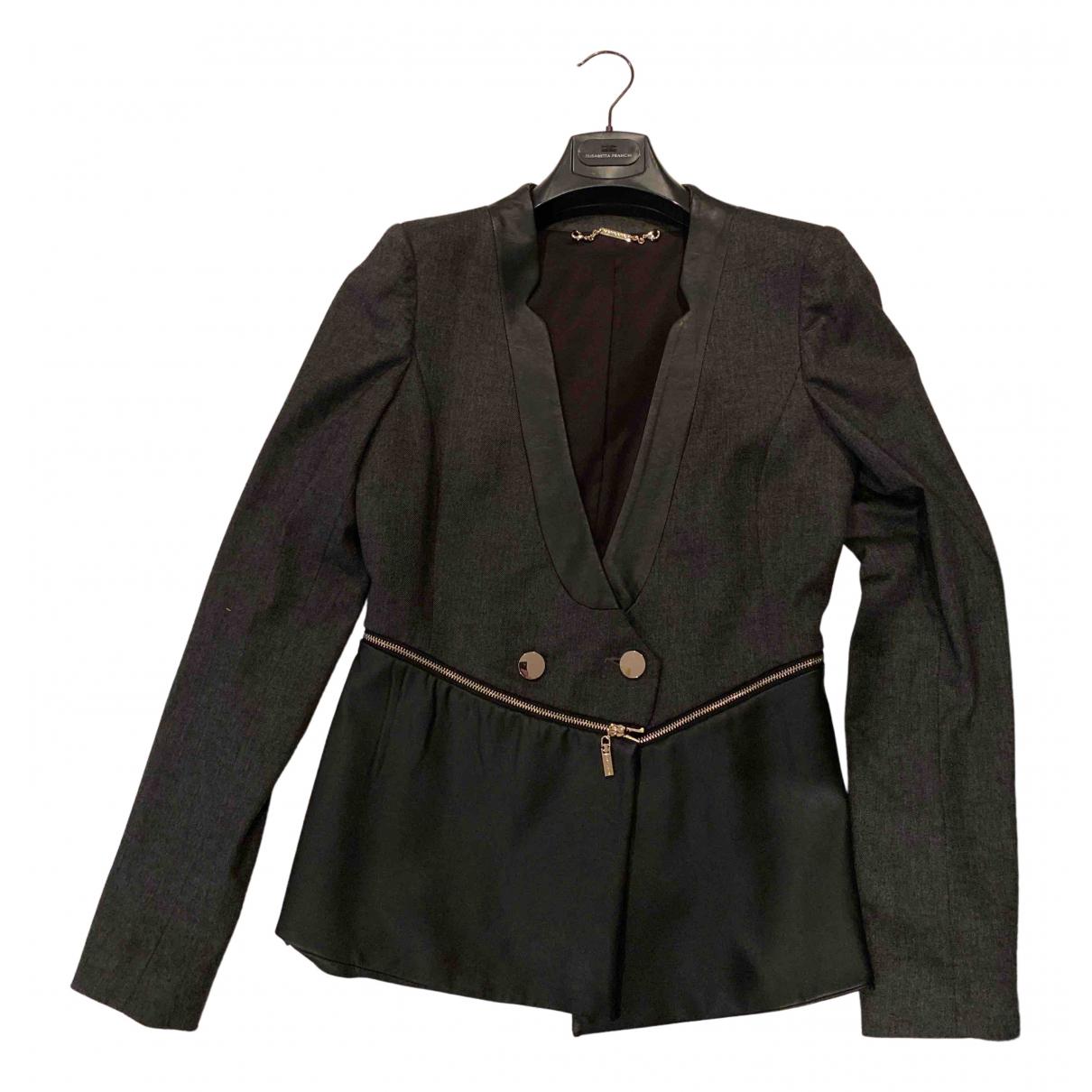 Mangano N Grey jacket for Women 42 IT
