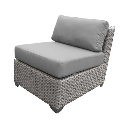 TKC055b-AS-DB-GREY Florence Armless Sofa 2 Per Box with 2 Covers: Grey and