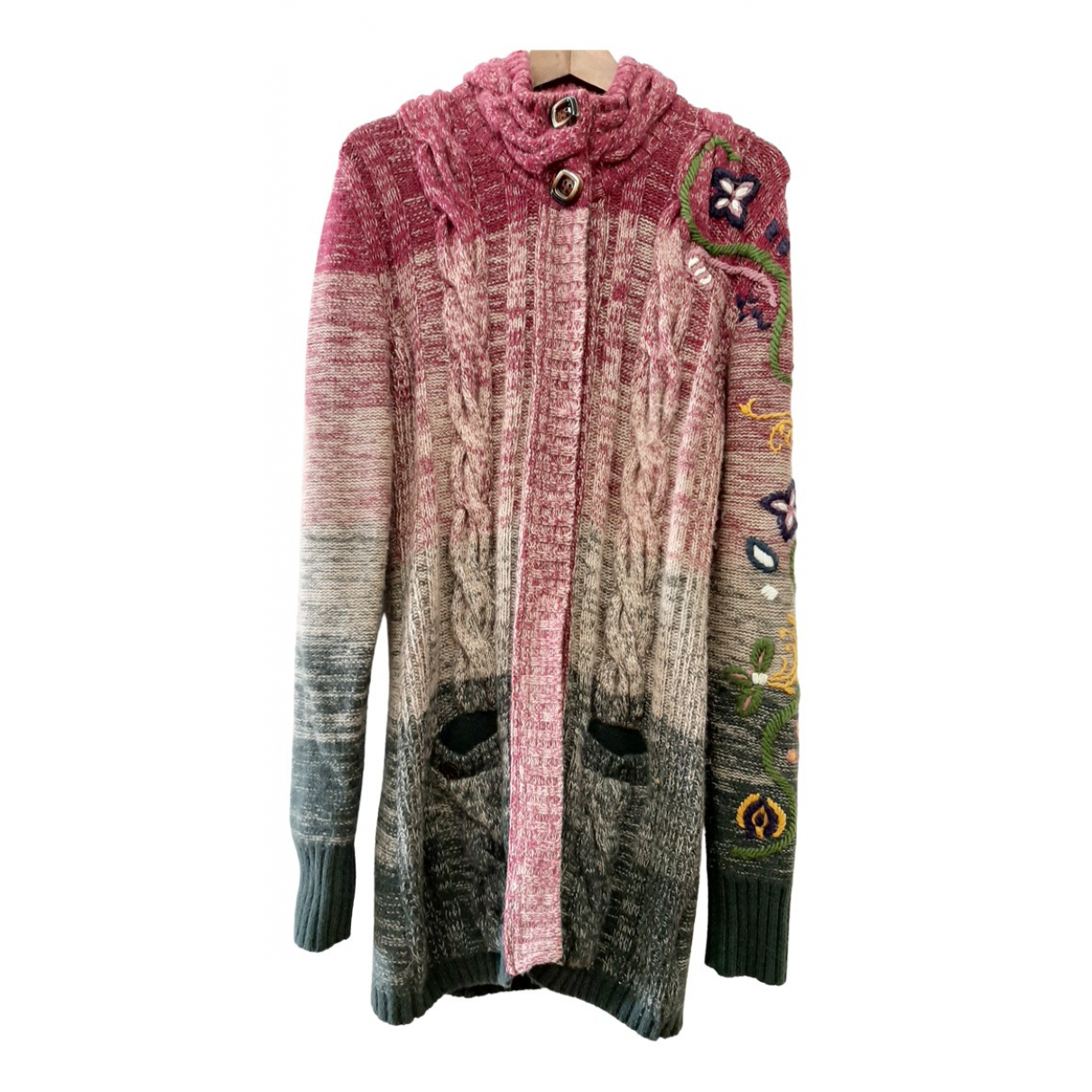 Replay - Pull   pour femme en laine - multicolore