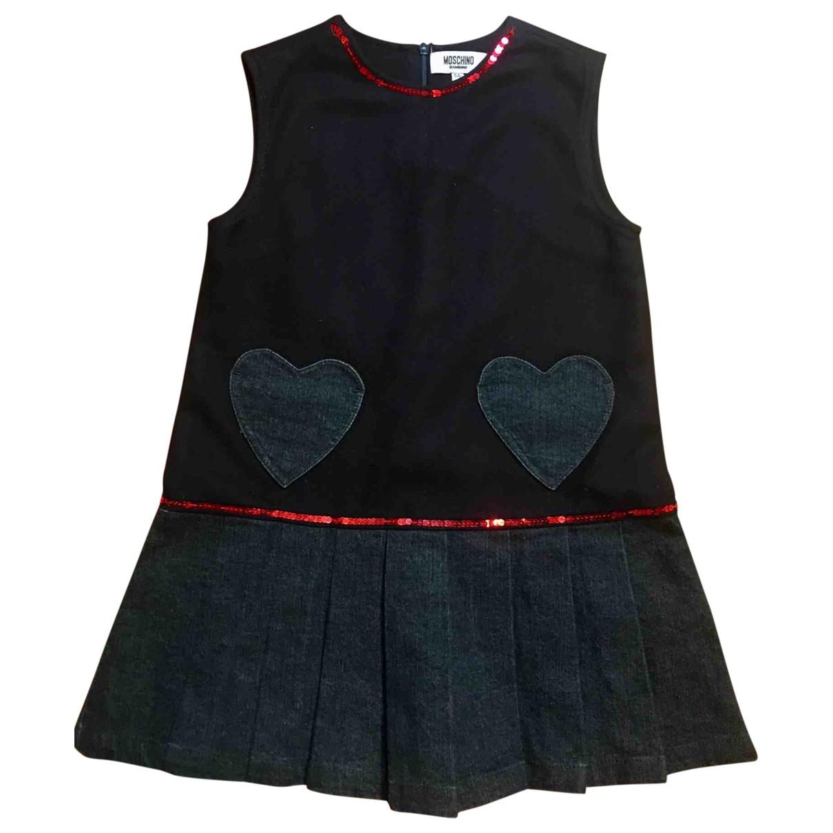 Moschino - Robe    pour enfant en denim