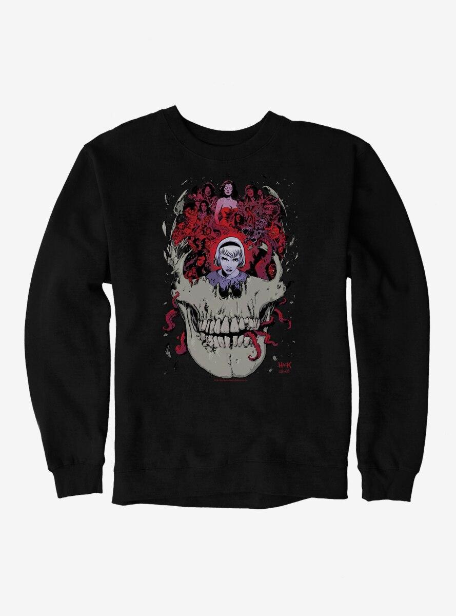 Archie Comics Chilling Adventures of Sabrina Skull Sweatshirt