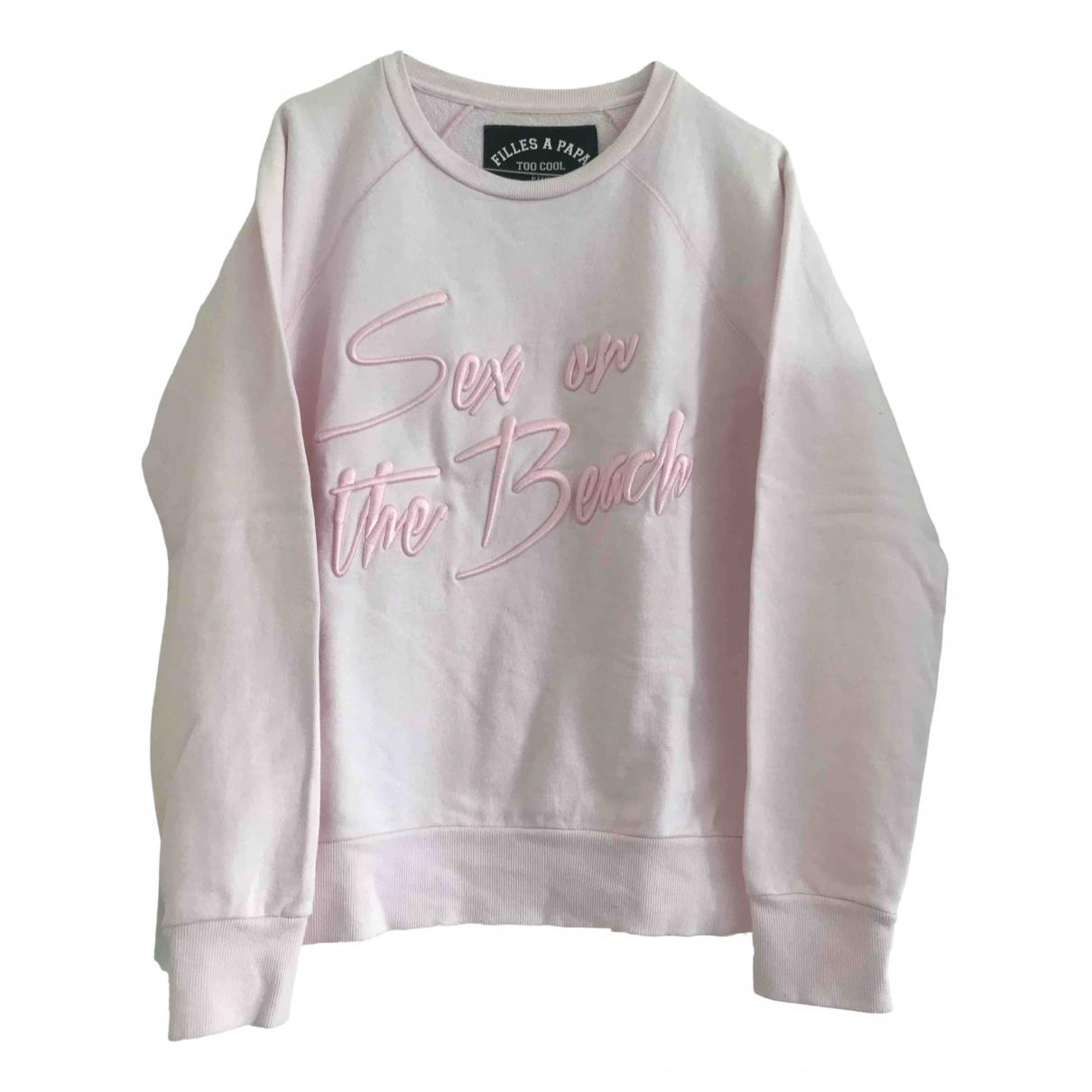 Filles À Papa \N Pink Cotton Knitwear for Women 1 US