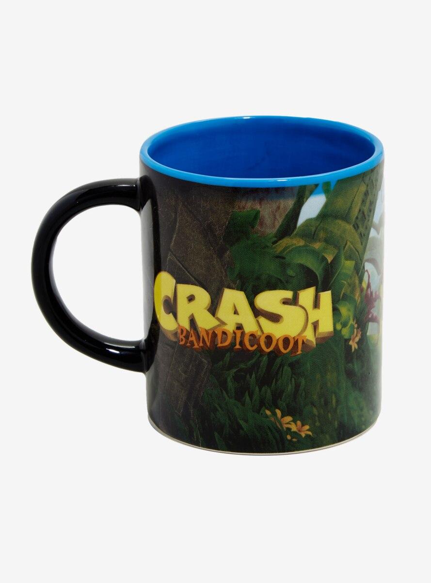 Crash Bandicoot Figure Inside Mug - BoxLunch Exclusive