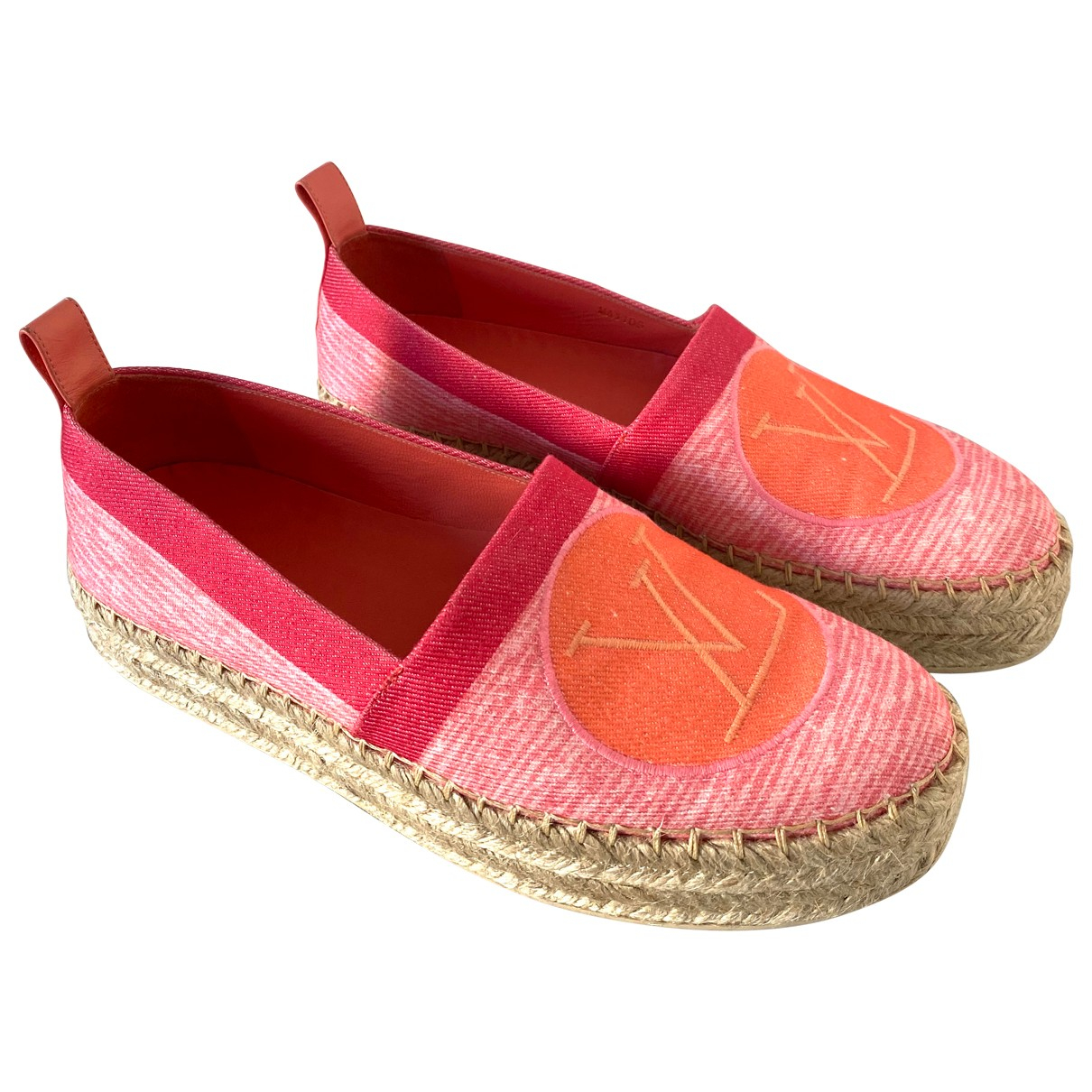 Louis Vuitton Seashore Espadrilles in  Rosa Leinen