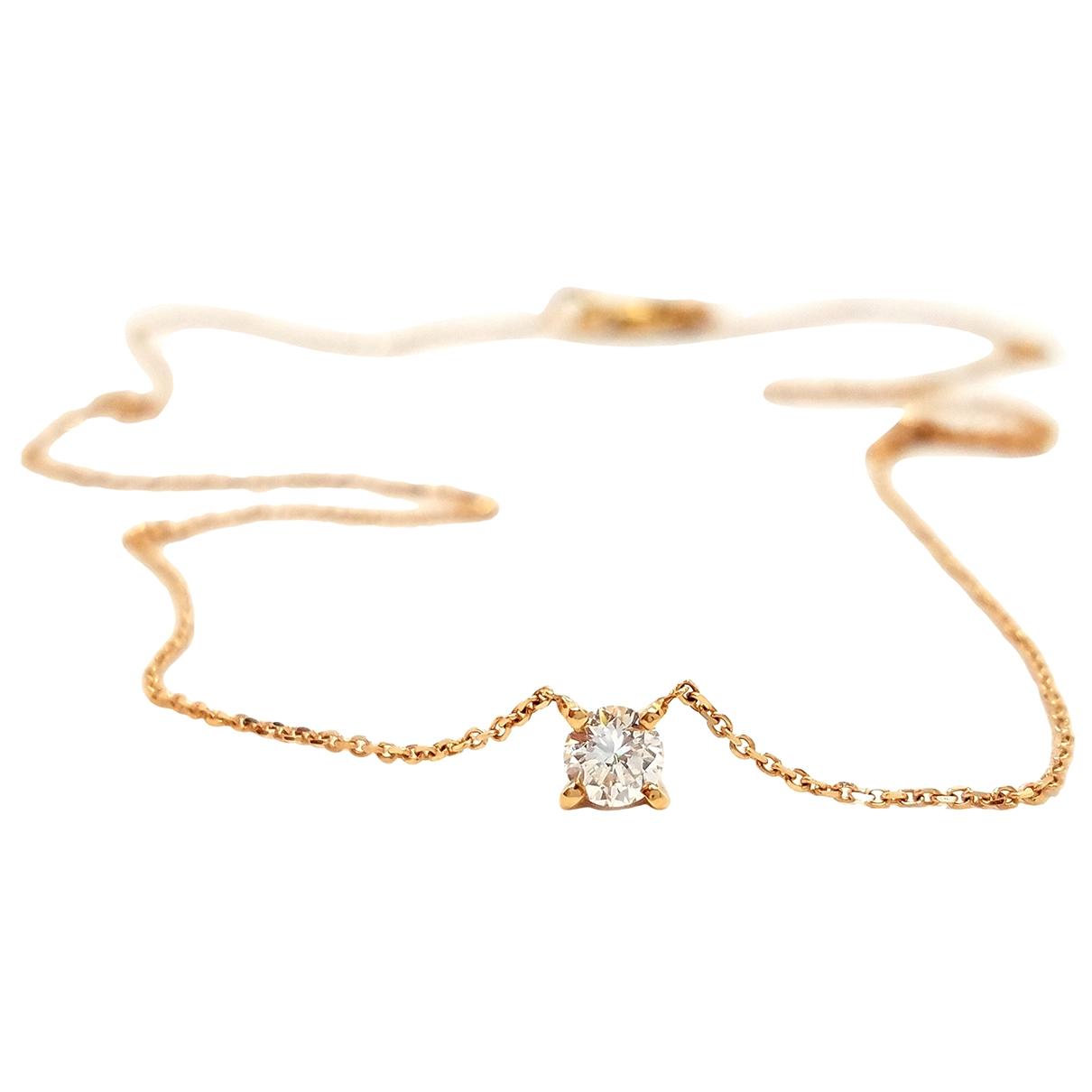 - Collier   pour femme en or rose - rose
