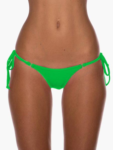 Milanoo Sexy Bikini Bottom Orange Swimsuit Thong Beach Bathing Suit For Women
