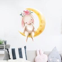 Pegatina de pared de niños con estampado de dibujos animados